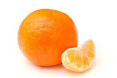 Tangerine isolated Stock Photos