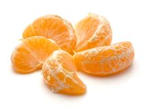 Tangerine isolated on white Stock Photography