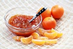Tangerine jam Stock Image