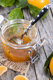 Tangerine Jam Royalty Free Stock Photos