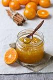 Tangerine jam Stock Photos