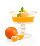 Tangerine jelly Royalty Free Stock Photos