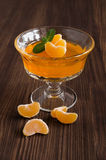 Tangerine jelly Stock Photos