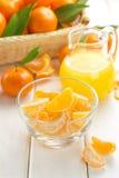 Tangerine juice Royalty Free Stock Photography