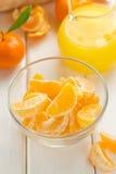 Tangerine juice Stock Photography
