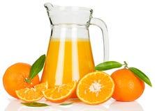 Tangerine juice Stock Image