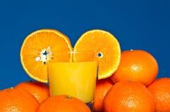 Tangerine Juice Stock Photos