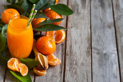 Tangerine juice background Royalty Free Stock Photo