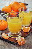 Tangerine juice Royalty Free Stock Photo