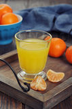 Tangerine juice Royalty Free Stock Image