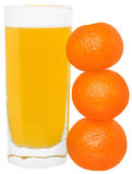 Tangerine juice Stock Photo
