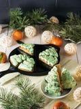 Tangerine-Kuchen Lizenzfreie Stockfotos