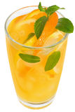 Tangerine and lemon juice Stock Photos