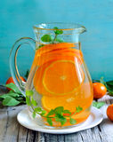 Tangerine lemonade Royalty Free Stock Photos
