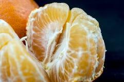 Tangerine macro. Macro shot of a tangerine Stock Image