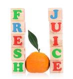 Tangerine maduro fresco Foto de Stock Royalty Free
