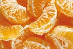 Tangerine, mandarin, clementine or orange fruit background Royalty Free Stock Photo
