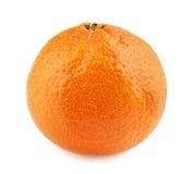 Tangerine or mandarin fruit isolated on white background Stock Images