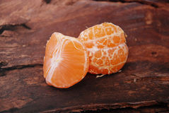 Tangerine or mandarin fruit Stock Images