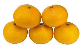 Tangerine or mandarin fruit Stock Image