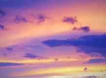 Tangerine niebo zdjęcie royalty free