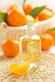 Tangerine oil Royalty Free Stock Images