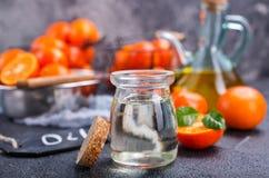 Tangerine olej zdjęcie stock