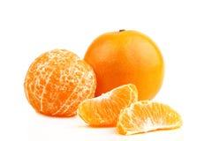 Tangerine orange fruit Stock Photo