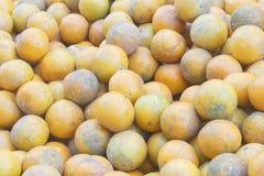 Tangerine (orange) on sale Royalty Free Stock Photo