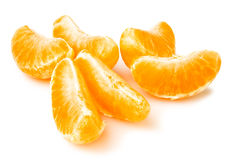 Tangerine peeled Royalty Free Stock Photography