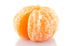 Tangerine peeled Royalty Free Stock Image