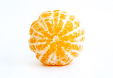 Tangerine peeled Royalty Free Stock Images