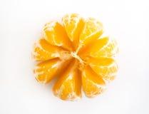 Tangerine peeled Royalty Free Stock Photo