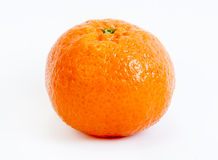 Tangerine single Stock Images