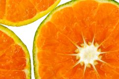 Tangerine slice Royalty Free Stock Image