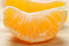 Tangerine slice Royalty Free Stock Photography