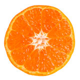 Tangerine slice Stock Photography