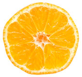 Tangerine Slice Stock Images
