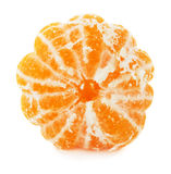 Tangerine slice isolated on the white background Royalty Free Stock Photography