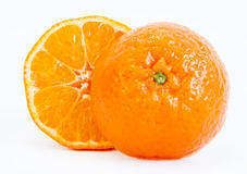 Tangerine sliced Royalty Free Stock Photo