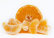 Tangerine sliced Royalty Free Stock Photography