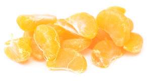 Tangerine slices Royalty Free Stock Photo