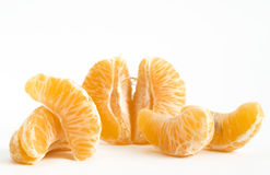 Tangerine slices Stock Image
