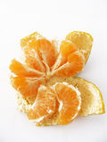 Tangerine slices of tangerine pictures-with plenty of plenty of vitamin Stock Image
