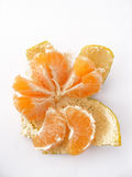 Tangerine slices of tangerine pictures-with plenty of plenty of vitamin Stock Photo