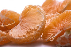 Tangerine slices Royalty Free Stock Images