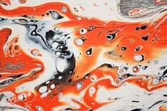 Tangerine-Strudel-Zusammenfassung Lizenzfreie Stockbilder