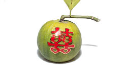 Tangerine, tangerine is used in Chinese wedding ceremony Royalty Free Stock Photo