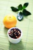 Tangerine Tea Royalty Free Stock Photography