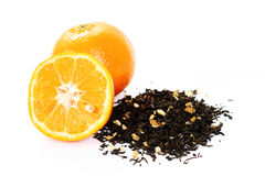 Tangerine tea Royalty Free Stock Photos